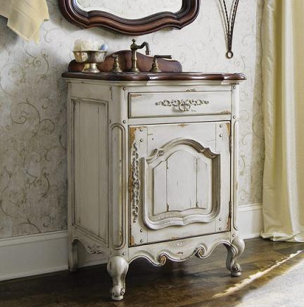 Bathroom Vanaties on Selection Of Bathroom Vanities With Weathered Finishes Is Introduced