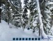 Whistler-Blackcomb Davies double black diamond ski run