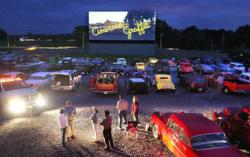 Kids Fun Activities at the Movies Drive In Theater
