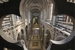 Interior of Siena Duomo