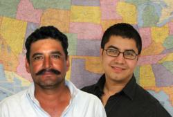 Head shots of Cantu and Hernandez