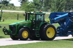 TORC Robotics ByWire drive-by-wire kits for the Kinze Autonomous Grain Cart System