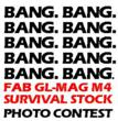 Between September 24, 2012 and February 11, 2013, The Mako Group and FAB Defense will give away 10 GL-MAG M4 Survival Stocks and 10-round magazines to winners. See www.freesurvivalmag.com for rules.