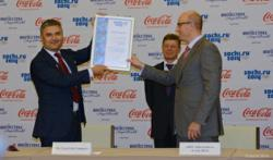 Coca-Cola and Ingosstrakh Became Presenting Partners of the Sochi 2014 Olympic Torch Relay