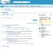 Bloomfire integrates with SalesForce Chatter.