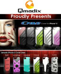 Qmadix iPhone 5 Crave cover