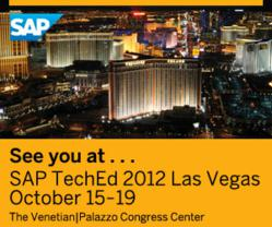 SAP TechEd 2012 Las Vegas