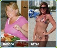 How can an obese person lose weight fast