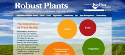 Image of RobustPlants home page