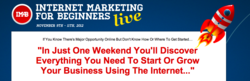 Internet Marketing for Small Businesses Live Event