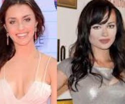 Ashley Rickards and Kathryn McCormick Pictures
