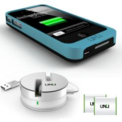 A completely customizable battery case bundled with an unlimited power source for iphone 4 4s