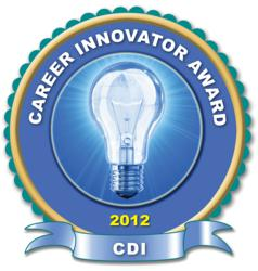 award, career innovation, career coach, job search