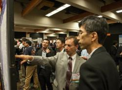 poster reception at SPIE Photomask Technology