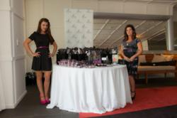 "Julie Beauchesne and Joni Beauchesne from Je Beau International attended the ""Secret Room"" Gifting Suite"