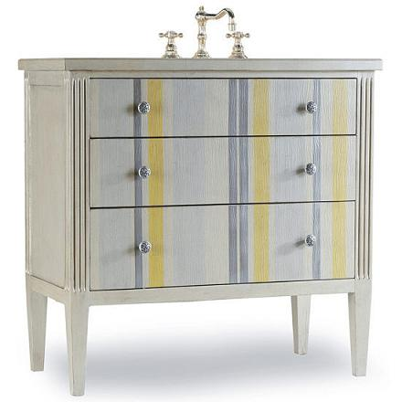 A Selection Of Colorful Hand Painted Bathroom Vanities And A Tip Sheet On How They Add Pizzazz