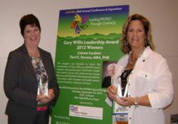 2012 Gary Willis Leadership Award winners