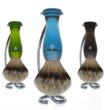 shave brush stand, wet-shave products, eshave, shaving stands, badger hair brush stands