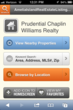 Prudential Chaplin Williams Mobile Website