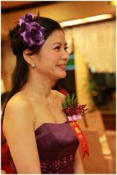 Hellen Chen: Bestselling author, matchmaker, hosting a wedding ceremony.