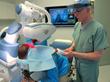 Dr. Bernstein performing Robotic FUE hair transplant at Bernstein Medical