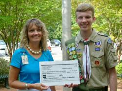 Eagle Scout Alexander Youth Network Award Boy Scout donation charity community