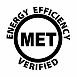 MET Labs' Energy Efficiency Verified Mark