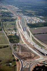 I-35 Construction at State Loop 491 near Waco