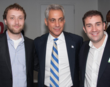 SingleHop at Mayor Rahm Emanuel's Press Conference Celebrating Chicago...