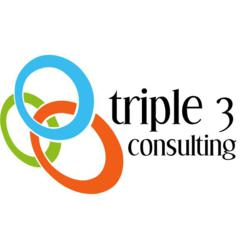 Triple 3 Consulting Logo