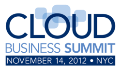 2012 Cloud Business Summit Square logo