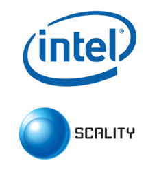 Intel and Scality Logos