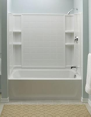 A Selection Of Bathtub Shower Combinations And A Shopper S