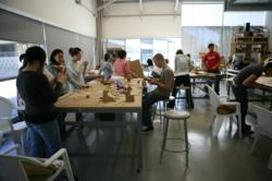 Students Working at Otis College of Art and Design