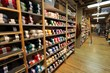 Picture of inside the yarn shop at Paradise Fibers