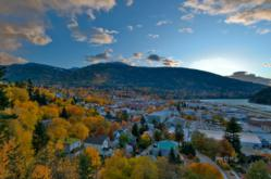 Kootenay Region of British Columbia in the Autumn