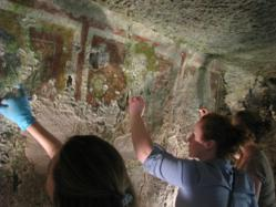 Volunteer vacation in Italy teaches fresco restoration