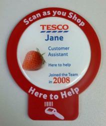New Name Badge Surrounds for Tesco