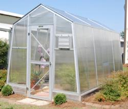 Turner Greenhouses Brightleaf 14' with Polycarbonate Covering
