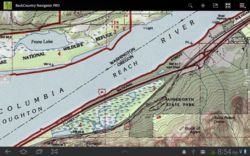 Topo Maps on an Android Tablet