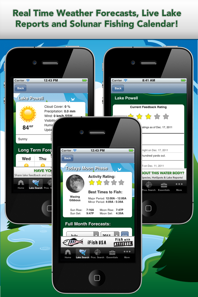 Anglers now fish with an apple instead of a worm thanks to for Best fishing forecast app