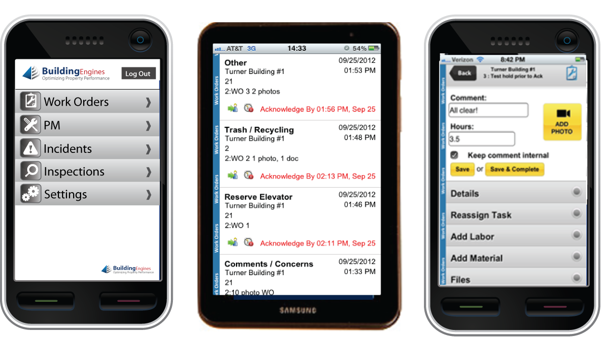 Growth in Mobile Real Estate Operations Spurs Building Engines' Next Generation Mobile App