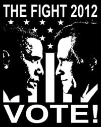Obama goes against Romney on Election Day