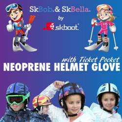 SkBob & SkBella Neoprene Helmet Glove with Ticket Pocket