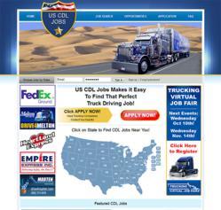 Screenshot of US CDL Jobs
