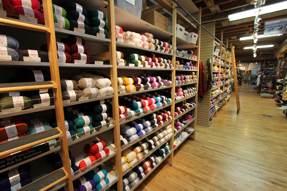 Crocheting Yarn Shop : ... has yarn from all over the world paradise fibers inside the yarn shop