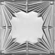 "This 24"" Art Deco tin ceiling design is good in high ceilings."