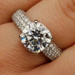 man made diamond, affordable engagement ring, custom, rings, sale