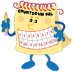 Countdown Pal mascot for Countdown Cal - Make waiting fun!