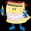 Countdown Pal mascot for Countdown Cal - Make waiting fun!
